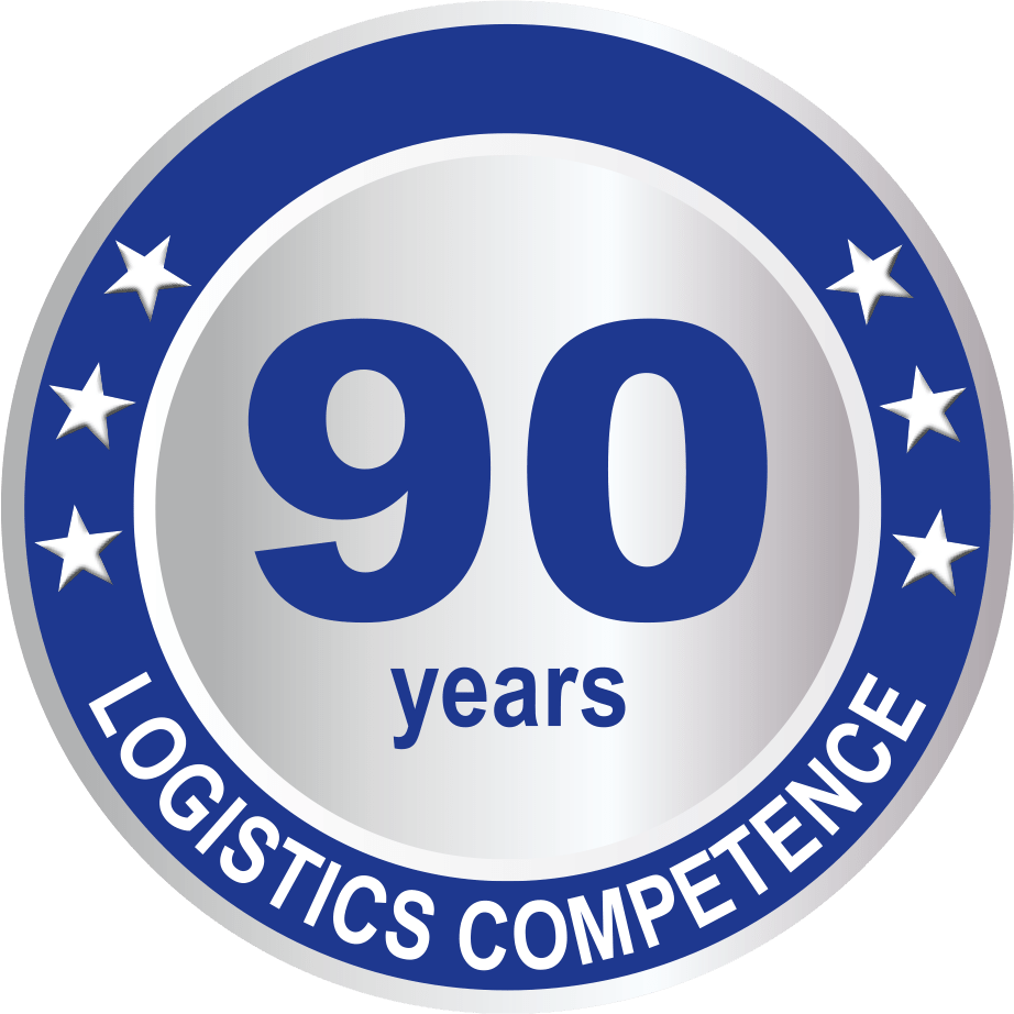 90 years logistics competence