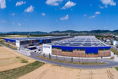 Lagerlogistik Logistikzentrum