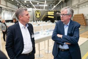 Matthias Schadler und Martin Daum im Dialog