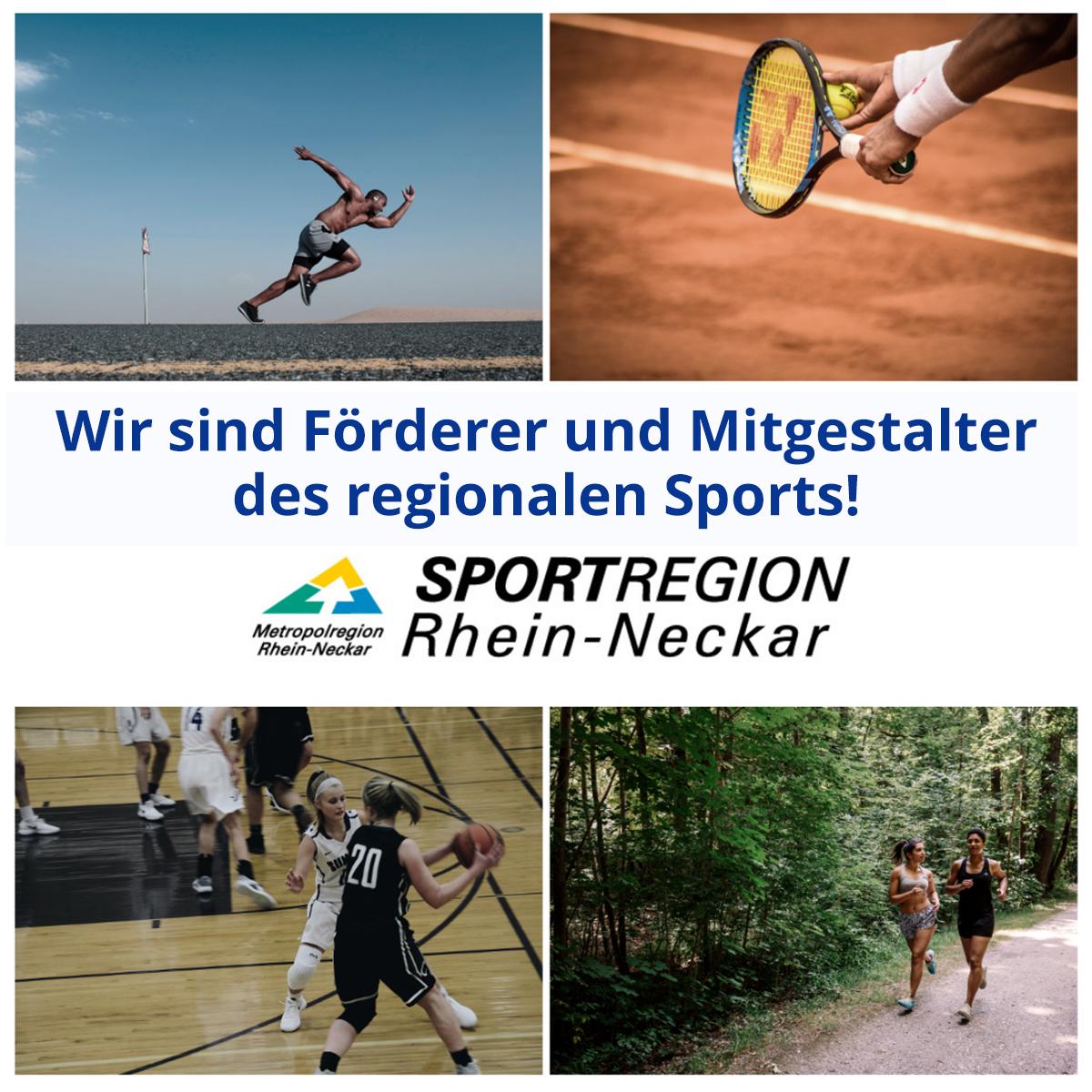 Pfenning logsitics Sponsor der Sportregion Rhein-Neckar