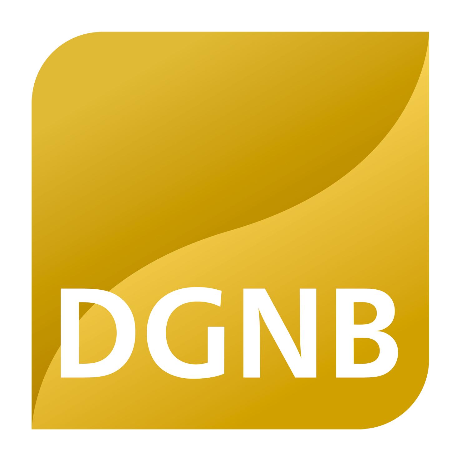 DGNB Goldvorzertifikat für multicube rhein-neckar
