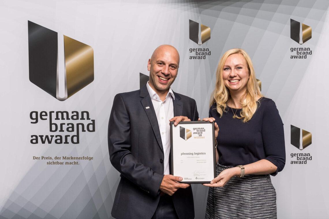 german brand award 2018 Auszeichnung