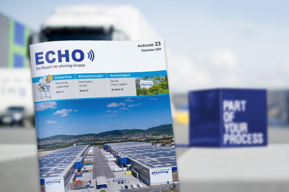 Echo das Magazin der echo-Gruppe