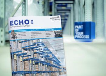 Titelbild vom pfenning.ECHO - Ausgabe 22 - Dez. 2019